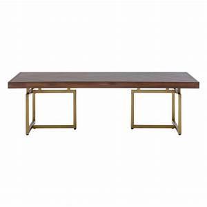 brandy acacia wood brass coffee table coffee tables With wood and brass coffee table