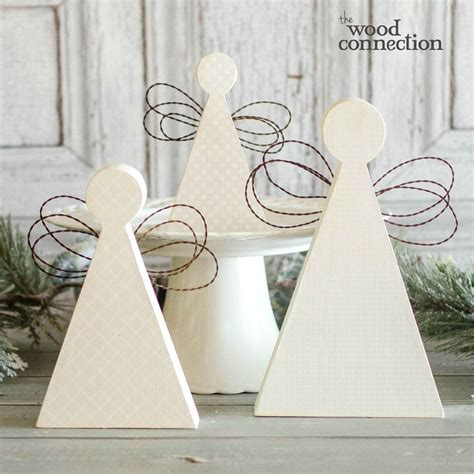 wood connection angel trio  http