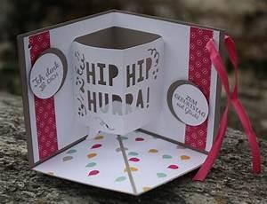 Hochzeitskarte Basteln Vorlage : corner pop up karte ~ Frokenaadalensverden.com Haus und Dekorationen