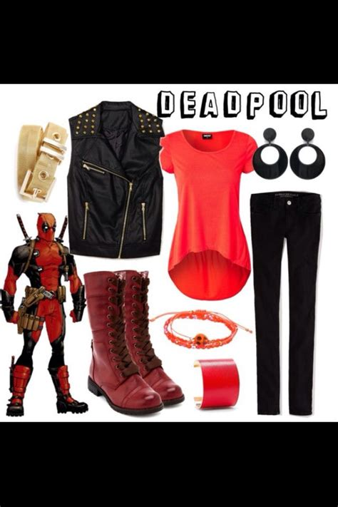 Deadpool Outfit!! I Wants!!!  Bad Girls  Pinterest I