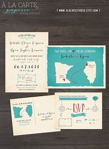 destination wedding invitation usa two states one love one With wedding invitations online in usa