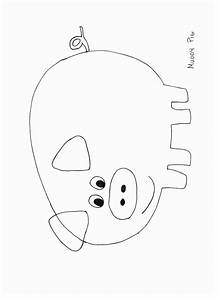 animals crafts print your pig craft template at With pig puppet template