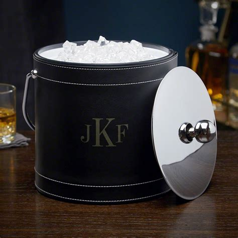 ice bucket monogram classic insulated personalized