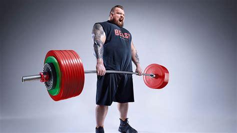 Video: World's Strongest Man winner Eddie Hall shares his ...