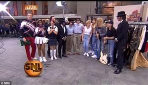 Matt Lauer Halloween Snl by Today Hosts Recreate The Looks Of 13 Saturday Night Live