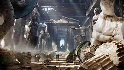 Greek Mythology Wallpapers Wrath Titans Itl Statue