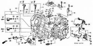 Oem 2003 Honda Accord Sedan At Sensor