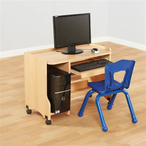 Buy Small Computer Desk by Buy Child S Beech Computer Desk H600mm Tts