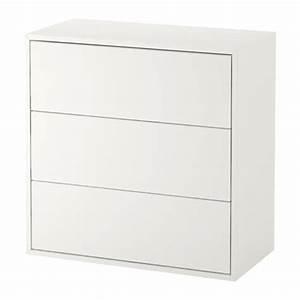 Ikea Regal Schubladen : eket schrank mit 3 schubladen ikea ~ Michelbontemps.com Haus und Dekorationen