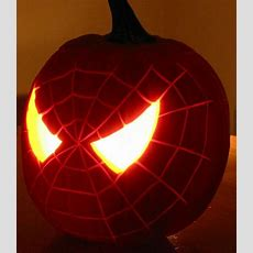 Spiderman Pumpkin, Spiderman And Pumpkins On Pinterest