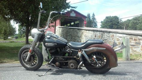 Photo Of 1969 Flh Harley Shovelhead Bobber By Mark Bikes