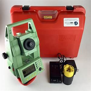 Leica Tcr 803power 3 U201d Reflectorless Total Station  Reconditioned