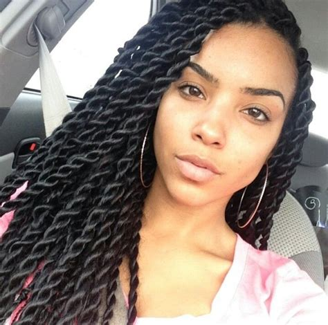 Hairstyles Senegalese Twists by Large Senegalese Twists For The Curls