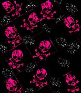 pink skull wallpaper 02 by barbaraaldrette on DeviantArt