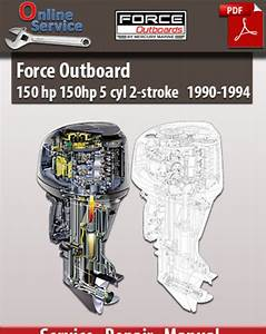 Factory Pdf Manuals  Force Outboard 150 Hp 5 Cyl 2