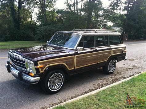 1989 jeep grand wagoneer 1989 jeep grand wagoneer fresh paint brand new tires