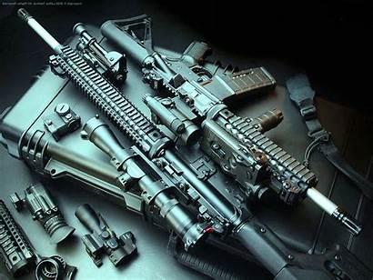 Gun Desktop Wallpapers Rifle Assault Wallpapersafari