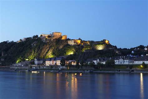 In Koblenz by Koblenz Deutsches Eck Og Tysklands Smukkeste Arv