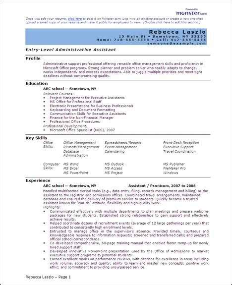 Professional Resume Template Word by Free 6 Microsoft Word Doc Professional Resume And Cv