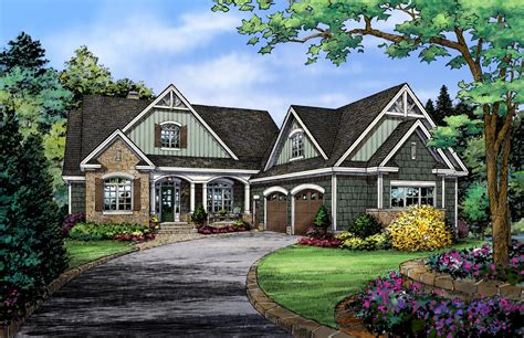 hillside home plans house plans walkout basement french country best european photos best free home design