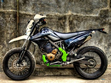 Modifikasi Klx Dtracker modifikasi klx 150 supermoto panduan modifikasi motor