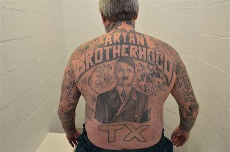 suspected aryan brotherhood gang member charged  hate