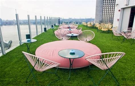 the acapulco chair furniture terrace standard hotel nyc