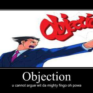 Objection Meme - meme center kingofthesun profile