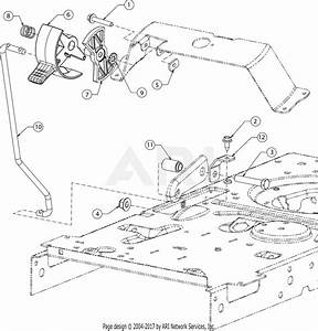 Troy Bilt 13wn77bs011 Pony  2017  Parts Diagram For Controls