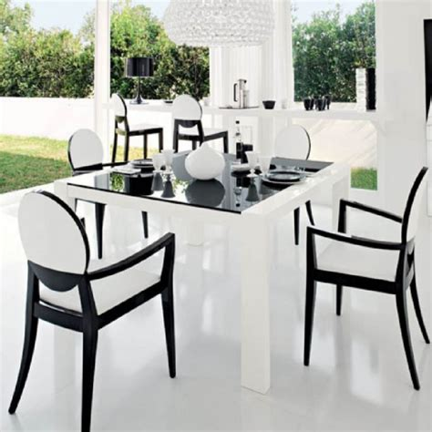 black dining room table and chairs furniture minimalist dining room decoration ideas with