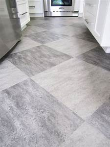 make a statement with large floor tiles With large parquet flooring