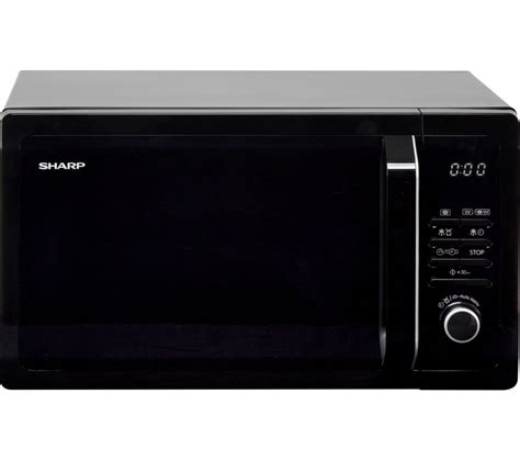 buy sharp r374km microwave black free delivery