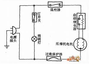 Huari Brand By-150d Refrigerator Circuit - Refrigerator - Electrical Equipment Circuit