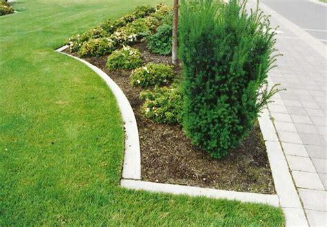 concrete mow ipm based landscape design mowing strips underlayment