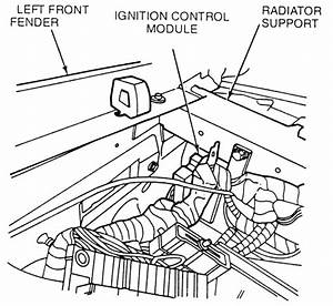96 ford ranger 2 3l ignition module location get free With diagram as well 1994 ford f 150 ignition control module on 92 ford