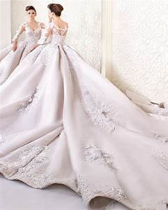 2017 amazing cathedral train ball gown wedding dress high for Aliexpress wedding dresses 2017