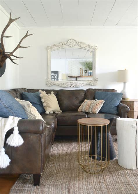 family room decor fall tour cozy minimalist style 3666
