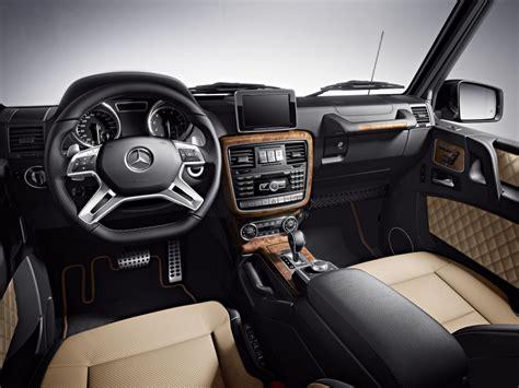 Mercedes G-class Designo Interior Options Detailed
