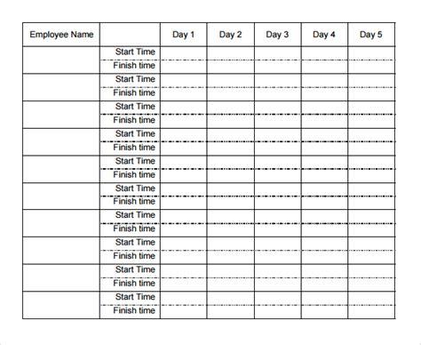 Multiple Employee Timesheet Template Free - Costumepartyrun