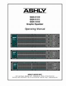 Gqx-3102 Manuals