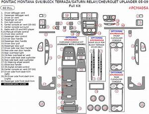 2008 Chevrolet Uplander Wiring Diagram