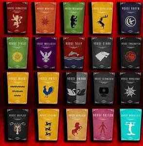 Game of Thrones Blasons et devises Symboles Pinterest Devise et Blason