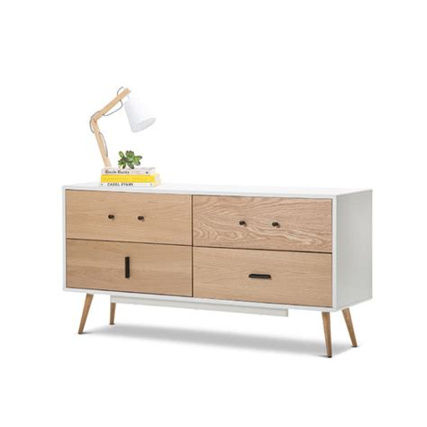 White And Oak Sideboard by White Oak Sideboard Temple Webster