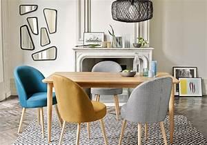 idees deco salle a manger toutes nos idees deco pour une With meuble de salle a manger avec tapis scandinave vintage