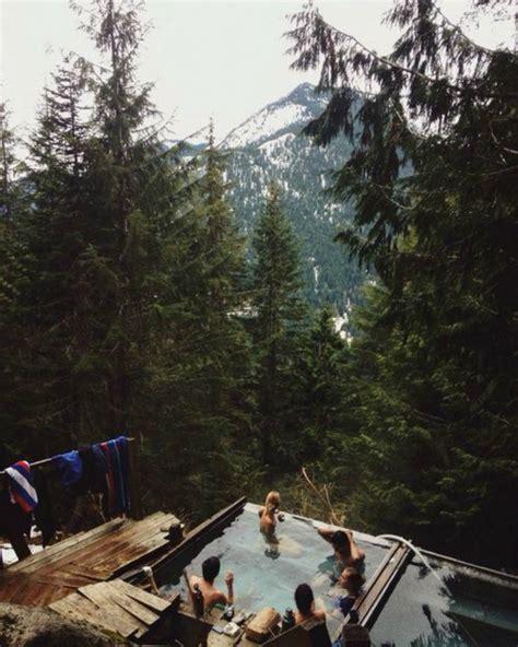 tub mountain view tub snow machine 9 totally unique soaking spots