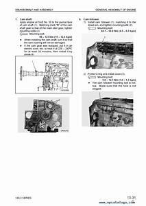 Komatsu Engine 6d140