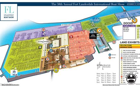 fort lauderdale international boat show map illustrations