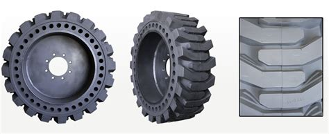 Skid Steer Tires For Bobcat Loaders In Pneumatic And Solid