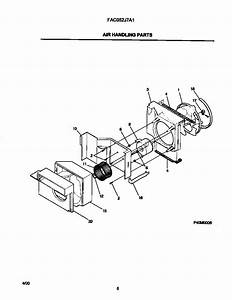 Frigidaire Fac052j7a1 Room Air Conditioner Parts