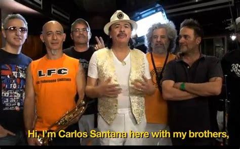 Carlos Santana Grabó Nueva Versión De 'mal Bicho' Con Los